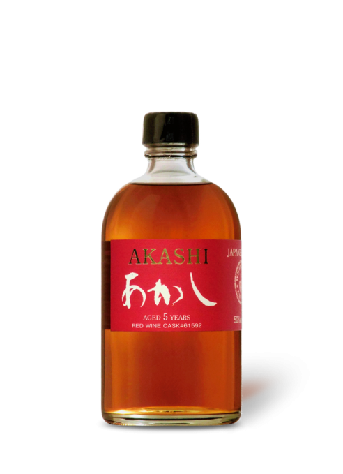 Akashi Single Malt 5 year old Red Wine Cask