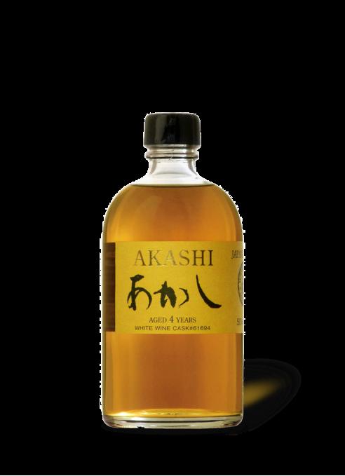 Akashi Single Malt 4 year old White Wine Cask