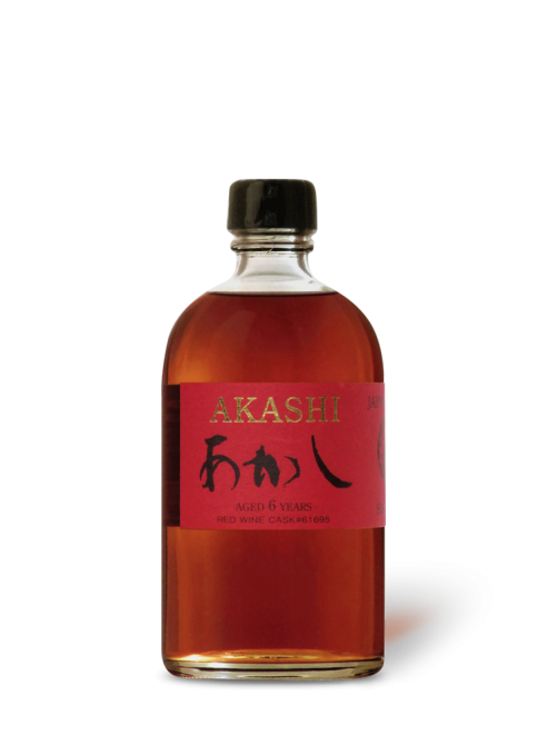 Akashi Single Malt 6 ans Red Wine Cask