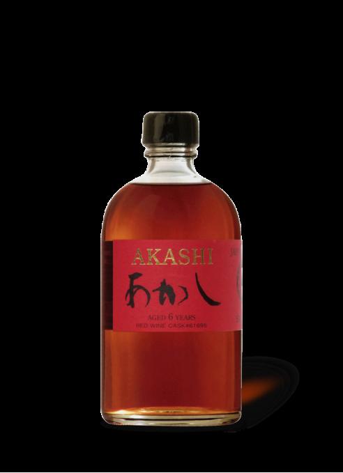 Akashi Single Malt 6 year old Red Wine Cask