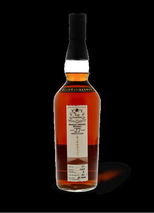Fuji Gotemba Single Cask Grain Whisky 27 ans