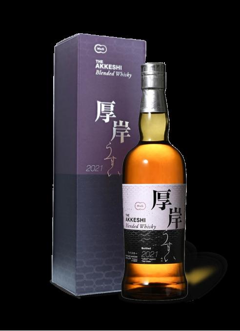 Akkeshi Blended Whisky Usui