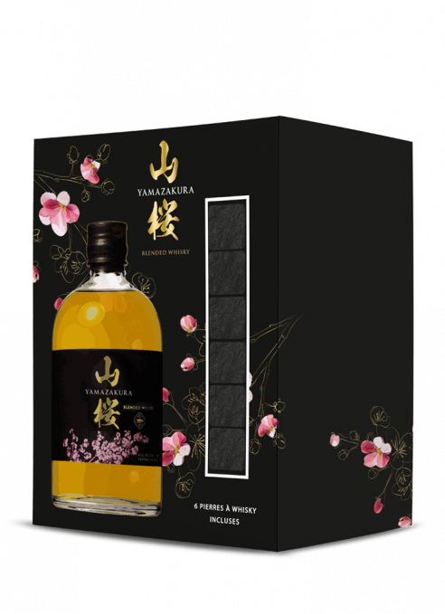 Giftbox Yamazakura+ 6 whisky rocks